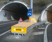 SMA 100 Wide has been installed on the road SS 80 in Teramo